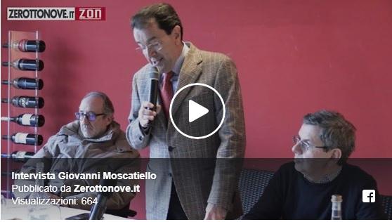 Baronissi, Giovanni Moscatiello ufficializza la sua candidatura a sindaco