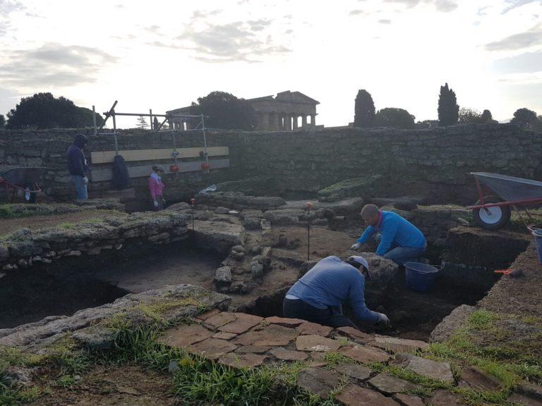 Due borse di studio per archeologi negli scavi di Paestum