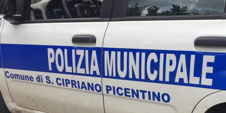San Cipriano Picentino: aggressione a due agenti della Polizia Municipale