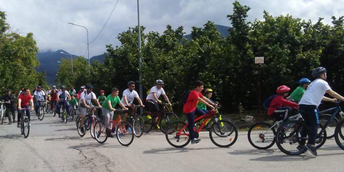 Giffoni manifestazione bici