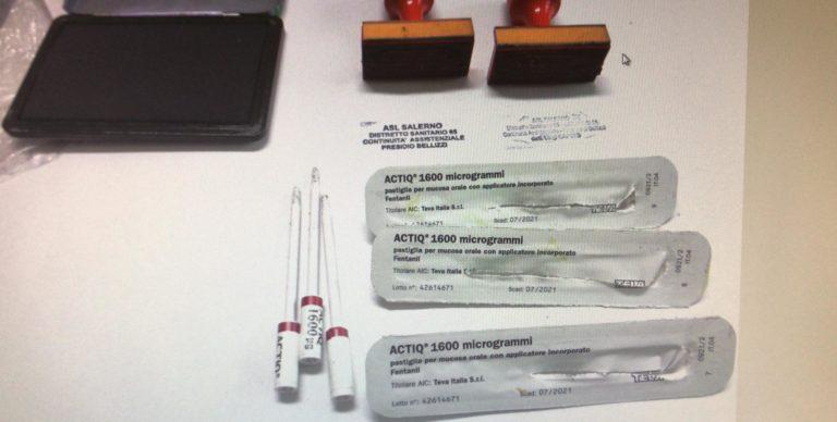 Battipaglia, ruba timbri della Guardia Medica per false ricette: denunciata