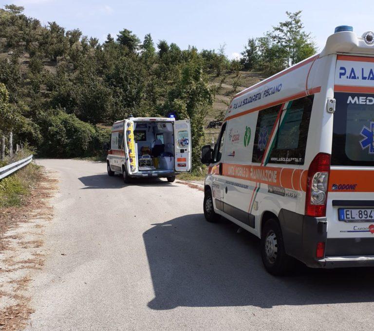 Calvanico, uomo cade in un dirupo in località Frassineto: i soccorsi