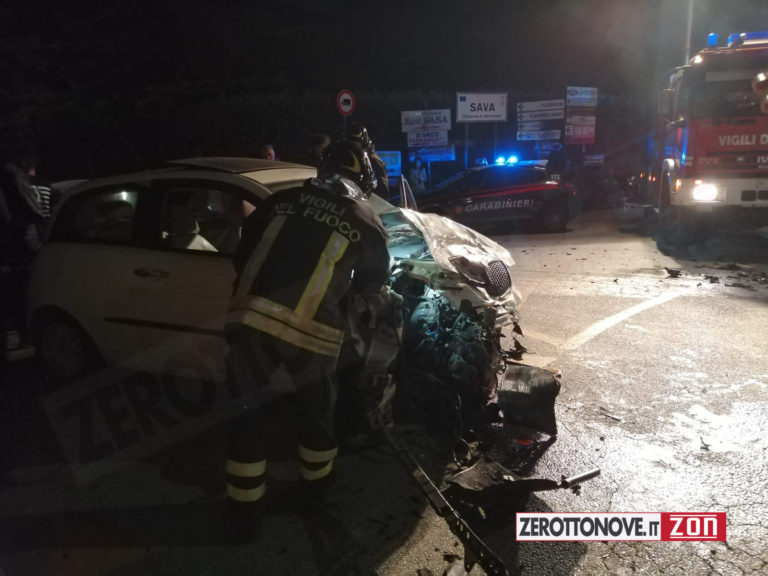 Baronissi, incidente tra due auto lungo la Strada provinciale 27b