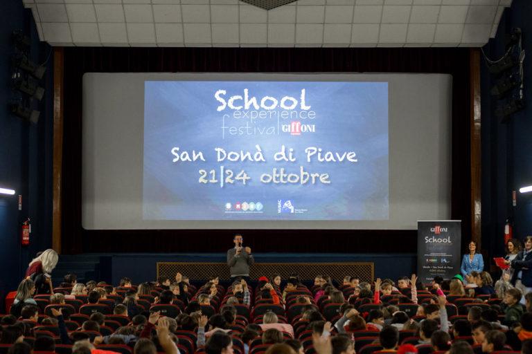 Giffoni: School experience al via a San Donà con il calore di 1500 studenti
