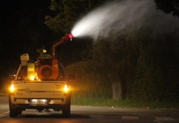 Baronissi, disinfezione anticipata a stasera causa pioggia
