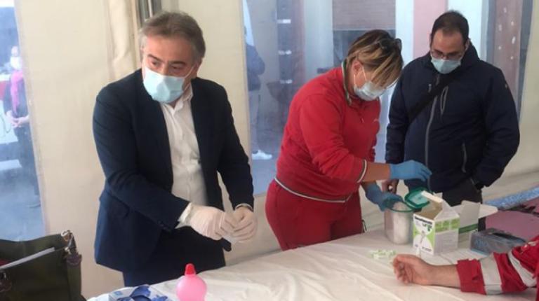 Giffoni Valle Piana, riprende la sanificazione delle strade