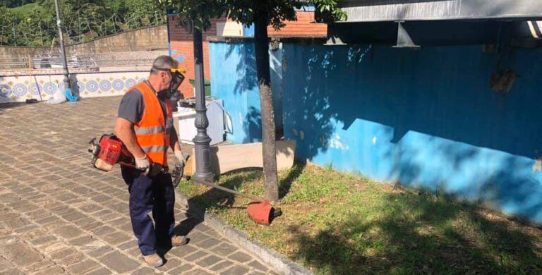 Baronissi, in corso i lavori di riqualificazione del Parco del Labirinto