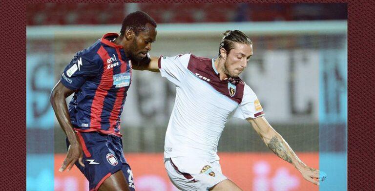 Crotone – Salernitana 1-1: Messias risponde a Maistro