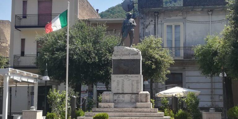 Siano, la Pro Loco chiede al Comune di restaurare il monumento dei caduti in guerra