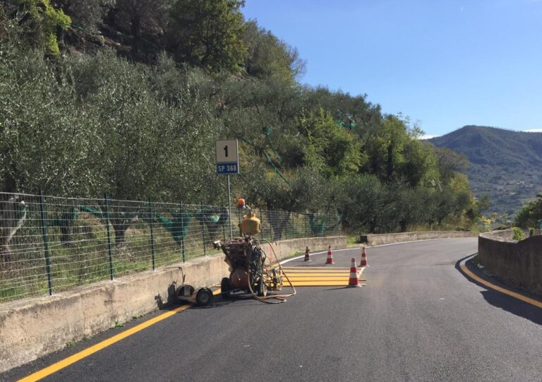 Giffoni Valle Piana: conclusi i lavori sulla SP 368 in località Terravecchia