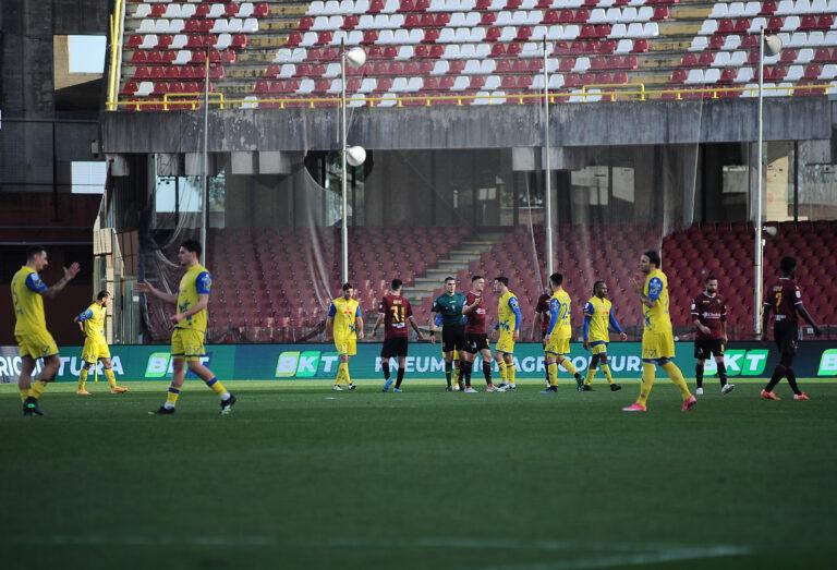 Salernitana-Chievo, pari e rimpianti granata: la photogallery