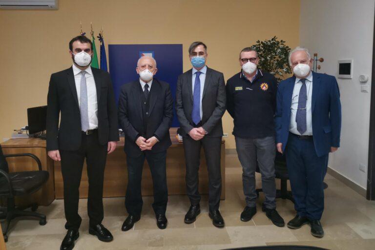 Frana ad Amalfi. Piano di intervento da 1,1 milione di euro