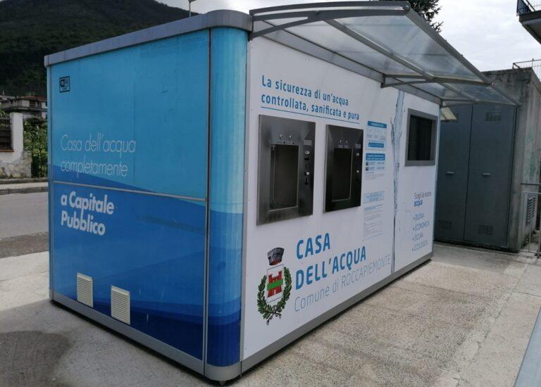 Roccapiemonte, manutenzione alla Casa dell'Acqua