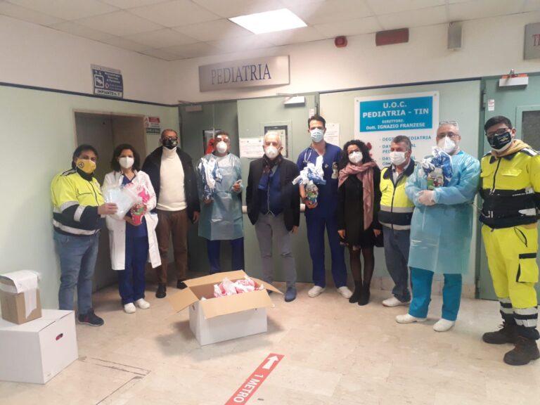 Roccapiemonte, l'Amministrazione dona uova di cioccolato ai bambini ricoverati in ospedale