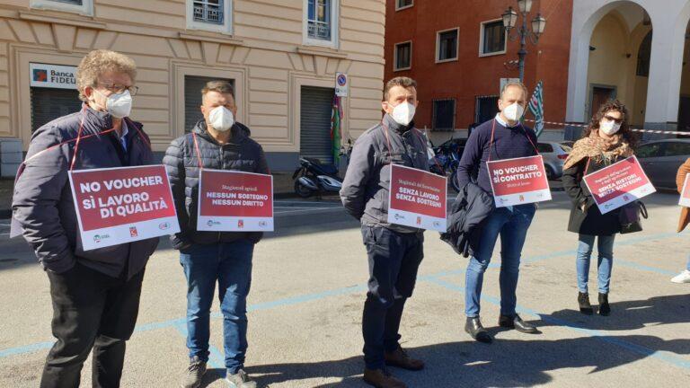 """Salerno, lavoratori agricoli in protesta: """"Modifiche al Decreto Sostegni"""""""