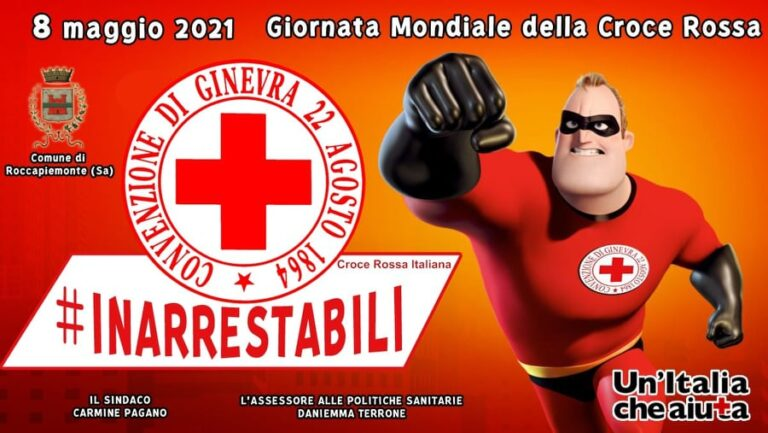 Roccapiemonte omaggia la Croce Rossa Italiana