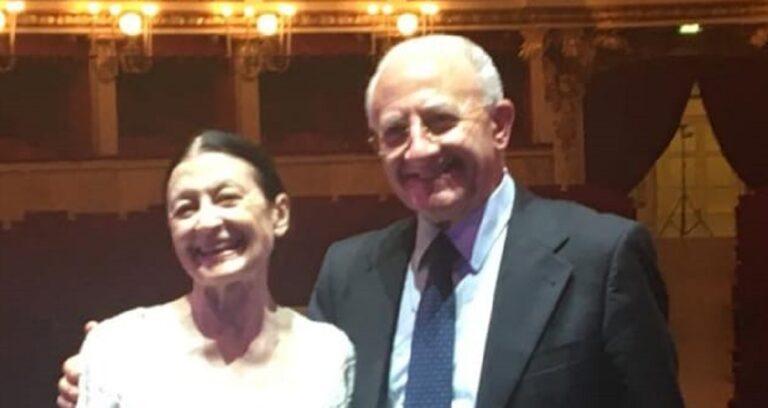 Salerno, lo spettacolo inaugurale stagione lirica dedicato a Carla Fracci