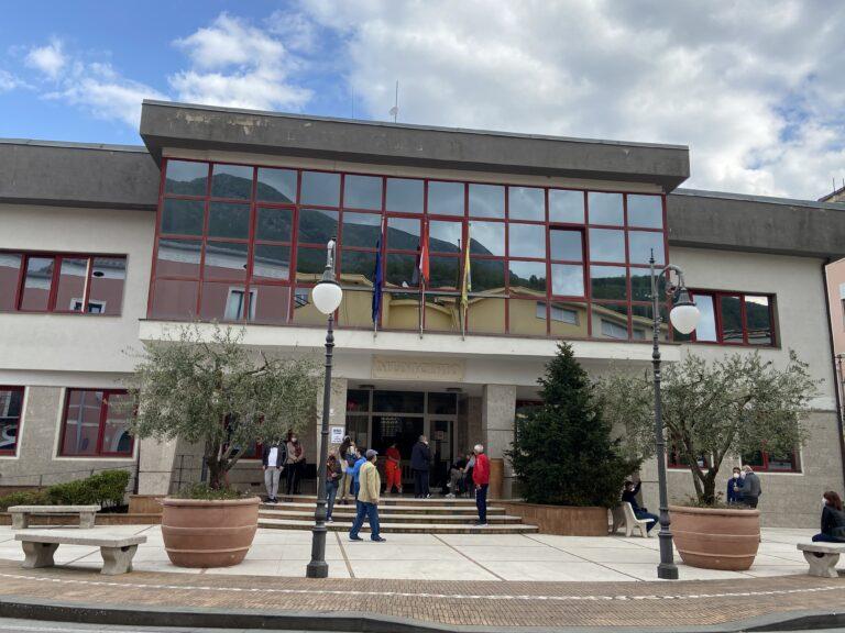 San Cipriano Picentino: cittadini in fila per le vaccinazioni