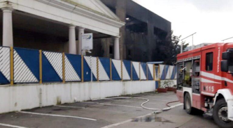 Roccapiemonte, sopralluogo presso Multitask: la struttura sarà demolita