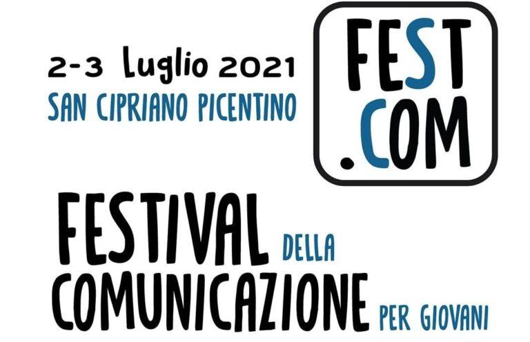 """Arriva il """"Festival della Comunicazione"""" a San Cipriano Picentino: appuntamento il 2-3 luglio"""