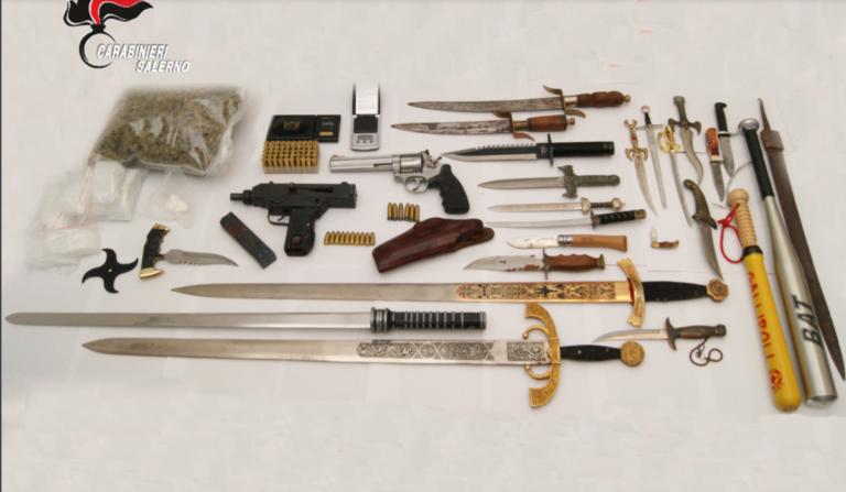 Pagani, arrestato un 42enne per spaccio e detenzione di armi da guerra