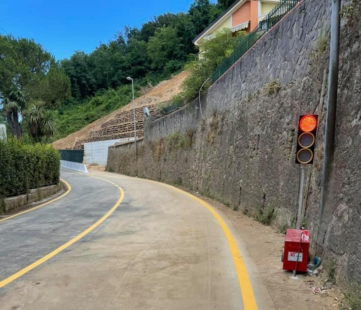 Pellezzano, riapre al traffico a senso unico alternato la SP27
