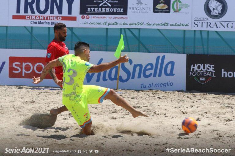 Baronissi, Andrea Coppola esordisce nella Serie A di Beach Soccer