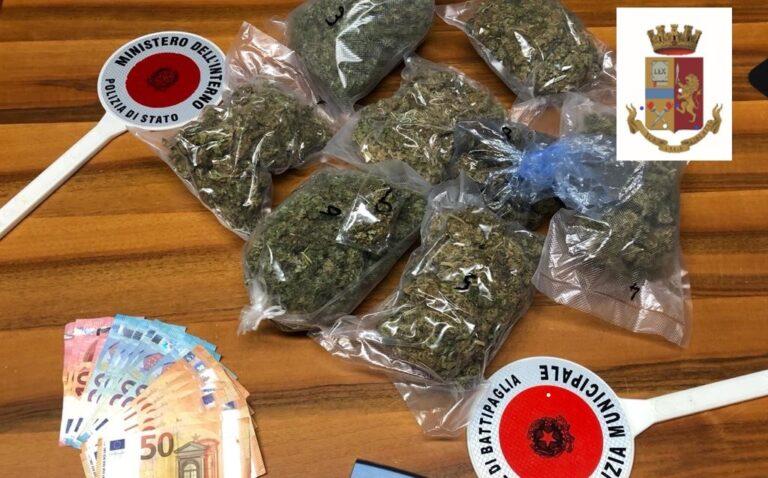 Coltivava e rivendeva marijuana: arrestato 36enne a Capaccio