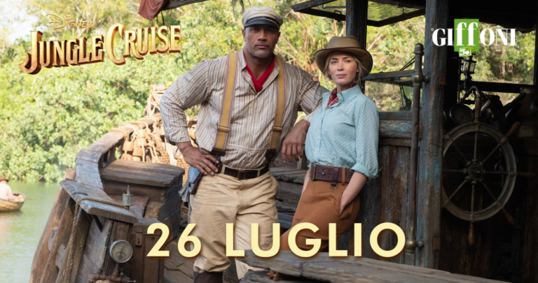 A #Giffoni50Plus l'anteprima italiana di Jungle Cruise: la nuova avventura Disney