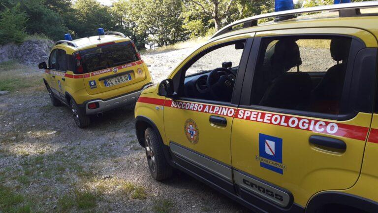 Disperso tra i comuni di Calvanico, Montoro e Solofra: 40enne salvato