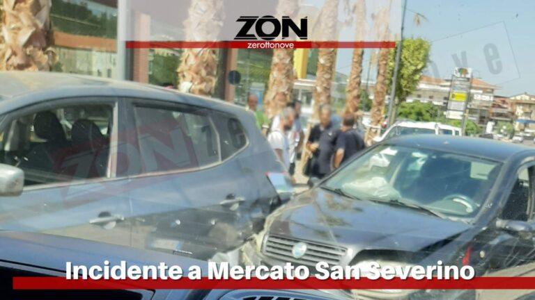Mercato San Severino, incidente tra due auto: nessun ferito grave