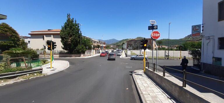 Nocera Superiore, nuovo impianto semaforico