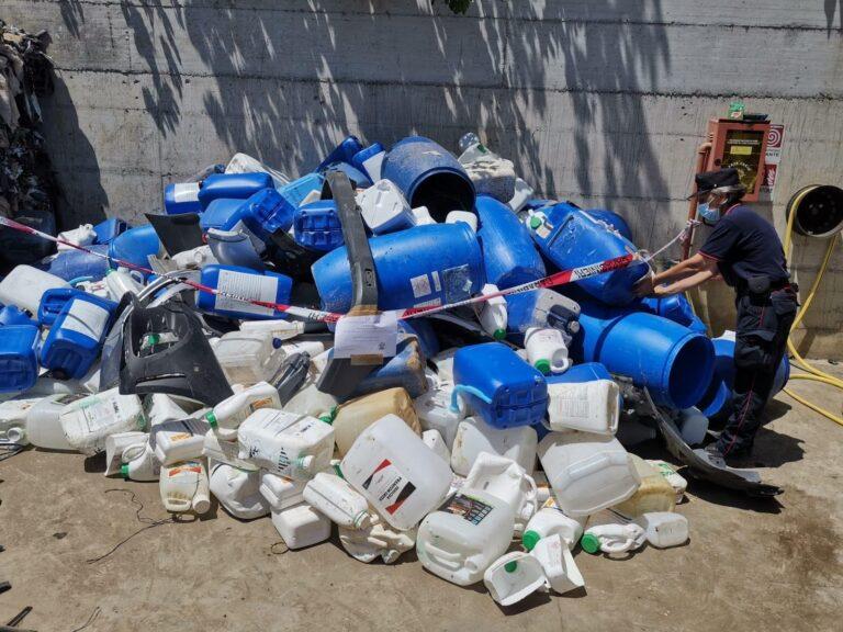 Pagani, controlli ambientali: sequestrati rifiuti illeciti