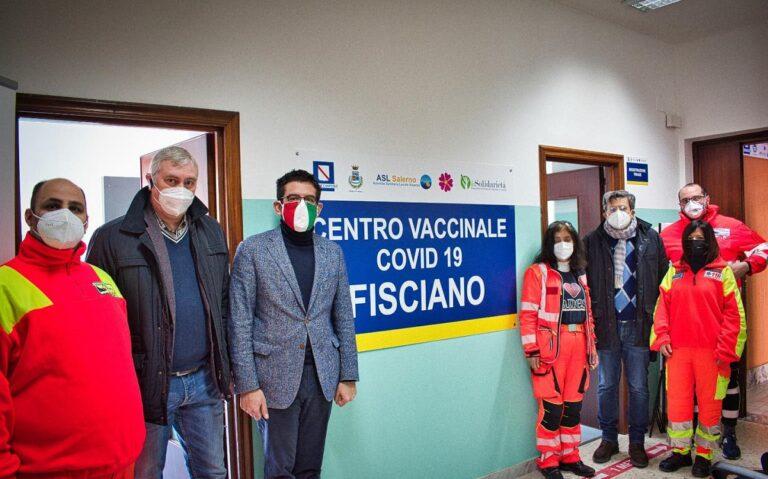 """Fisciano, al via la ripresa delle vaccinazioni con il supporto de """"La Solidarietà"""""""