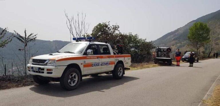 Incendi, la Protezione Civile Croce Azzurra Siano intensifica attività di pattugliamento