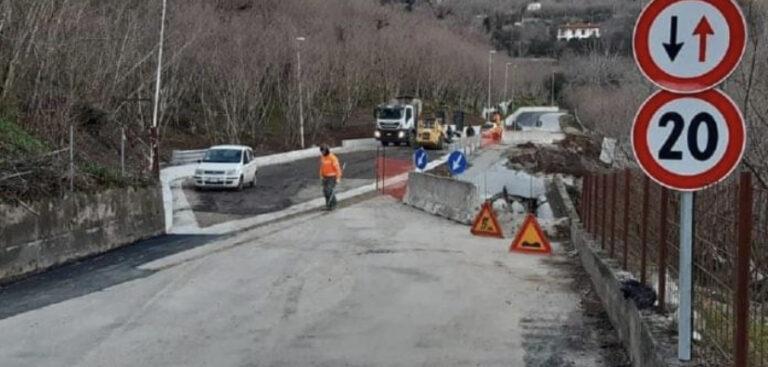 Sp26 di San Cipriano Picentino: approvato il progetto di ripristino carreggiata