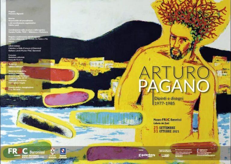 Baronissi, apre al Museo Frac la mostra di Arturo Pagano