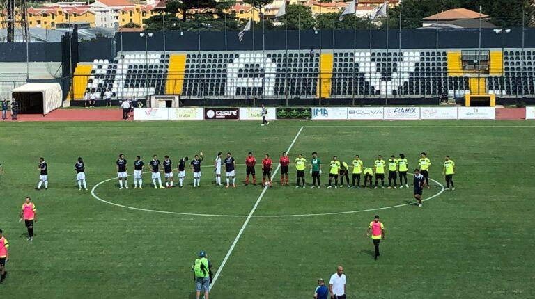 Cavese-San Giorgio 1-0, decide Allegretti: aquilotti qualificati