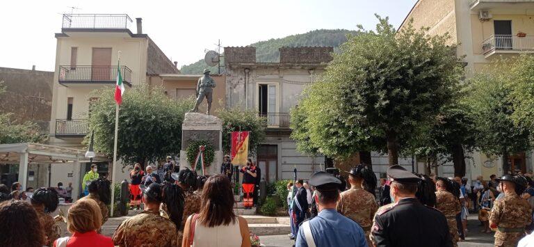 Siano, la cittadinanza celebra il centenario del Milite Ignoto