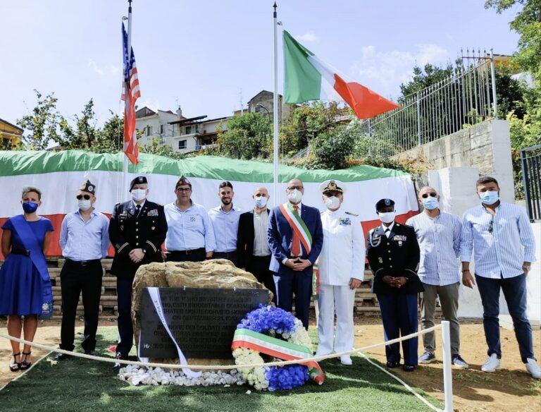 Montecorvino Rovella, inaugurato monumento ai soldati americani