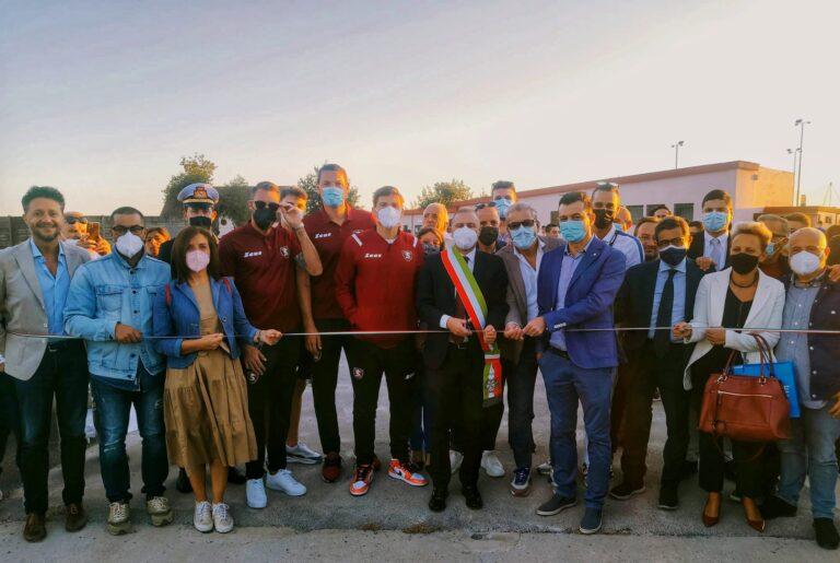 """Montecorvino Rovella, inaugurato Stadio Comunale """"Provenza"""""""