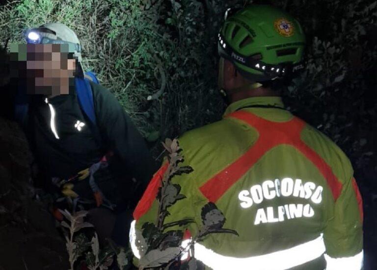 Amalfi: escursionista recuperato dal CNSAS