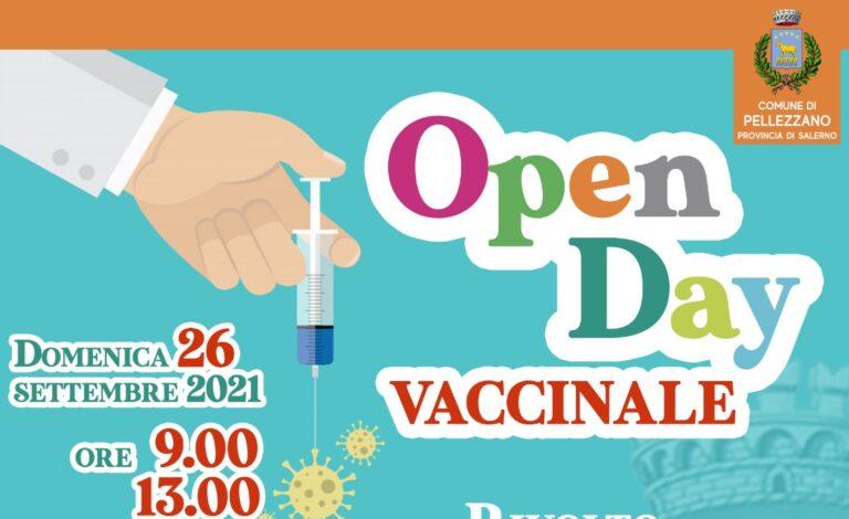 Pellezzano, domenica 26 settembre nuovo open day vaccinale