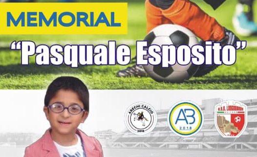 """Battipaglia, il 26 settembre il 2° Memorial """"Pasquale Esposito"""""""