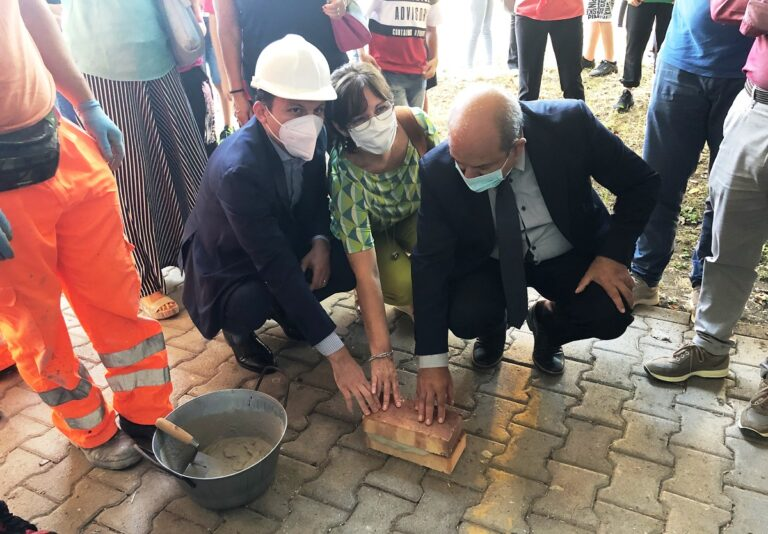Nocera Superiore, inaugurato il cantiere per la nuova palestra del Pascoli