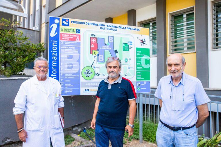 Battipaglia, la BCC dona kit per tamponi molecolari rapidi all'Ospedale