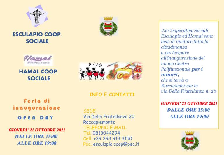 Roccapiemonte, apre il Centro Polifunzionale per Minori