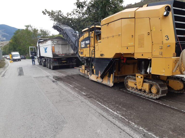 Continuano i lavori a Nocera Inferiore sulla SP 101