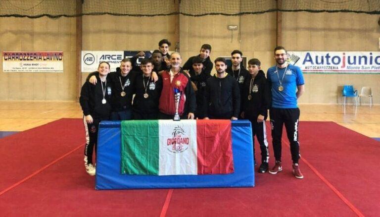 Il Tempio Shaolin vince la Coppa Italia di Kung Fu Wushu
